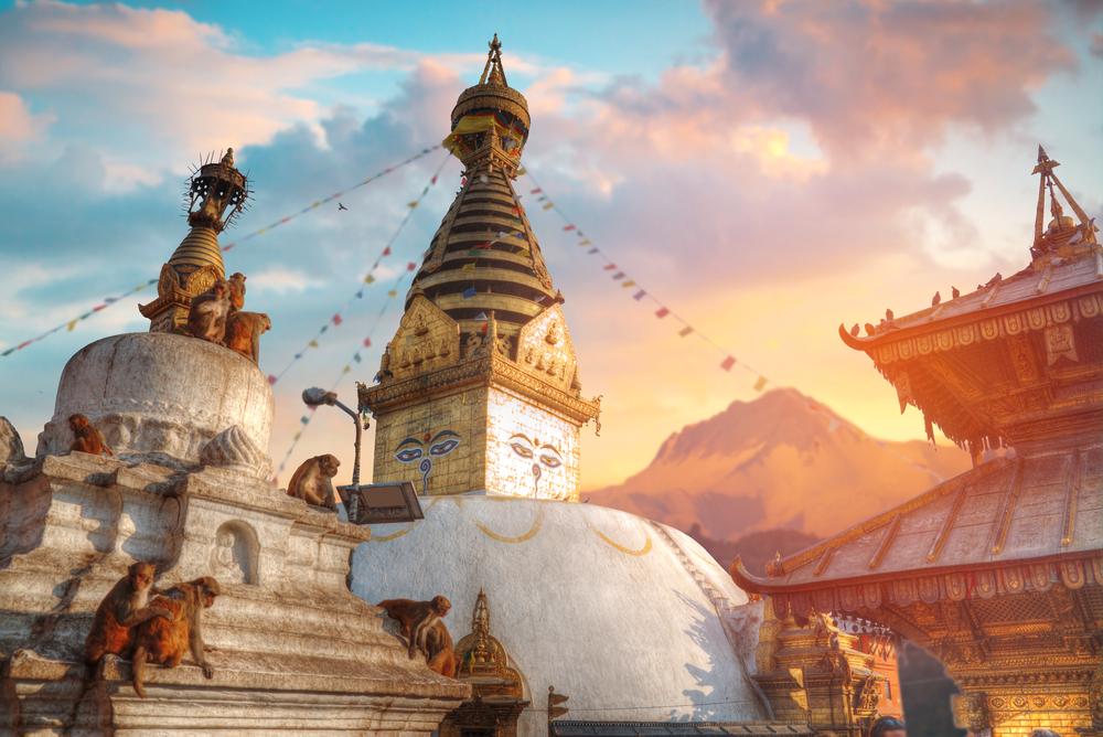 カトマンズ(ネパール)スワヤンブナート