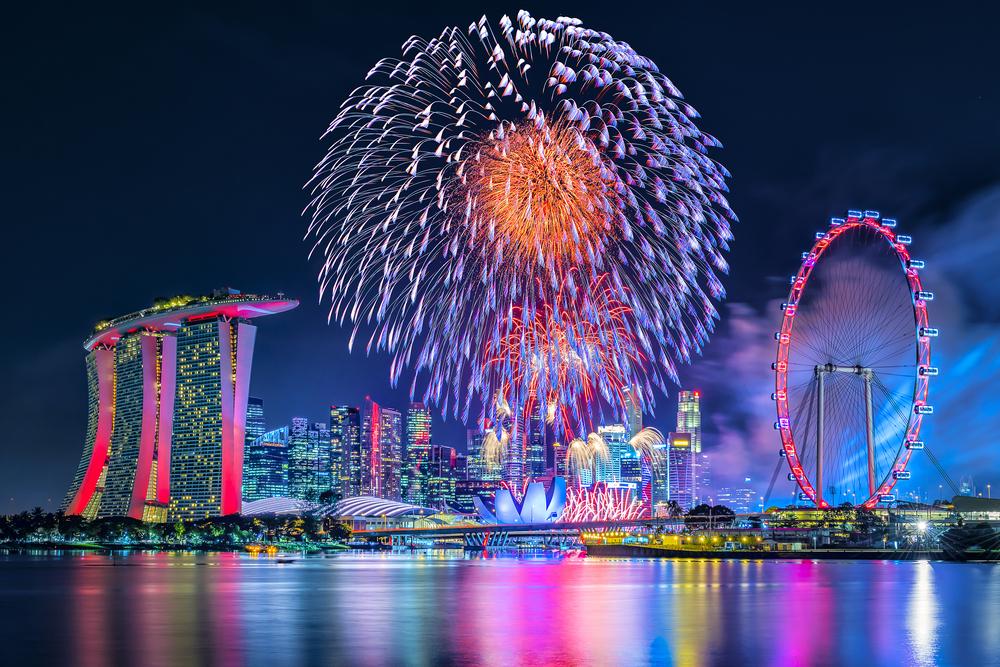 カウントダウン Countdown シンガポール Singapore