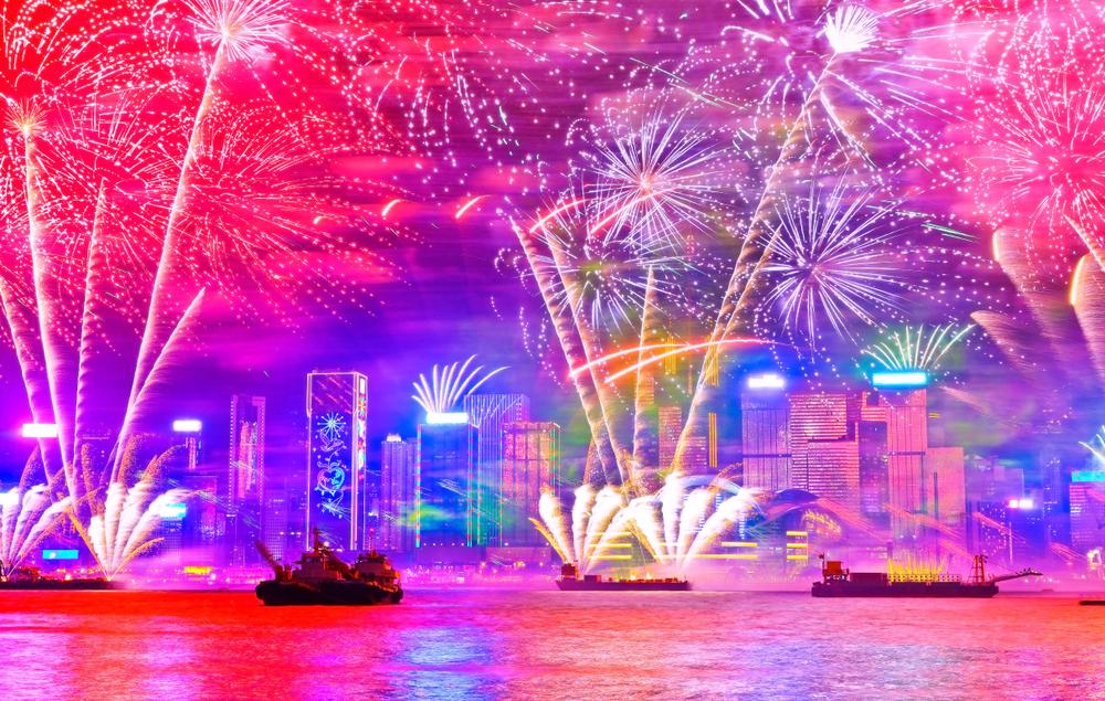 カウントダウン Countdown 香港 Hong Kong