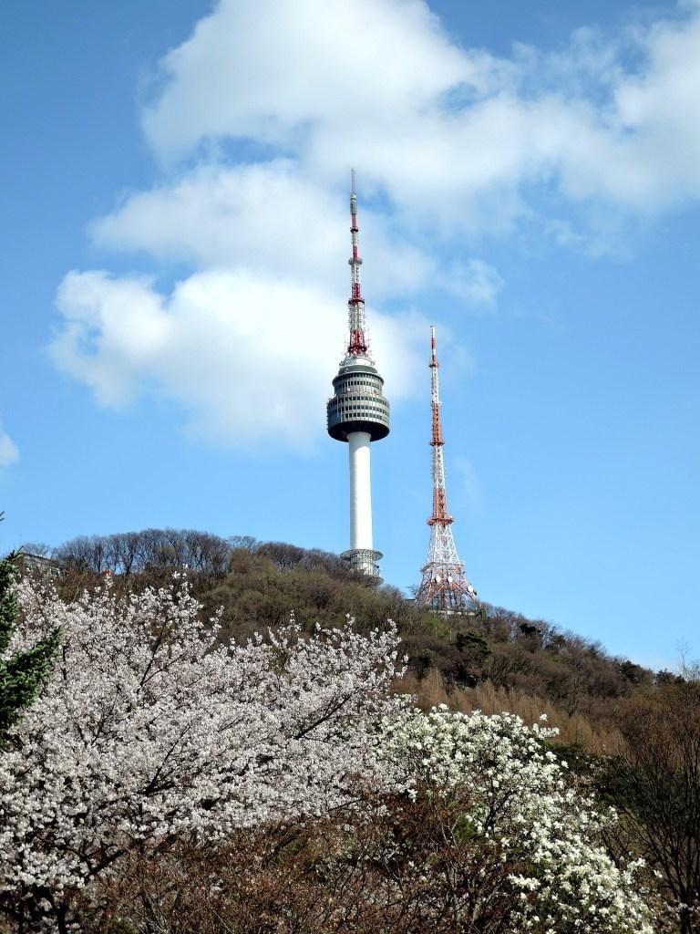 seoul namsan tower korea itinerary