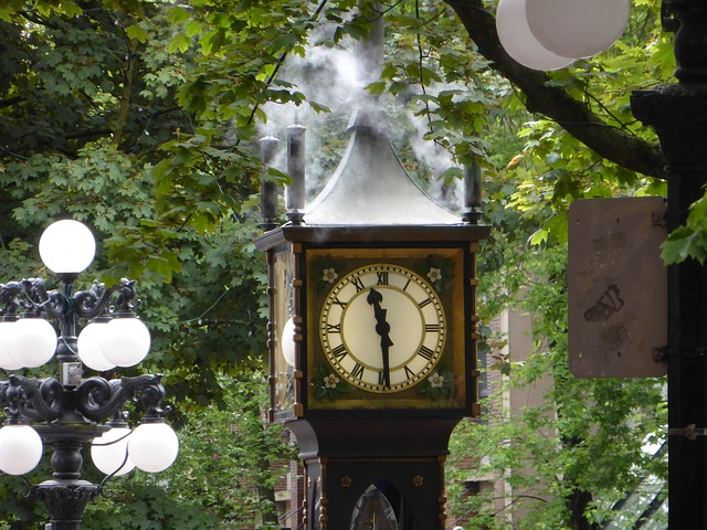 Gastown Steam Clock. Things to do in Vancouver.