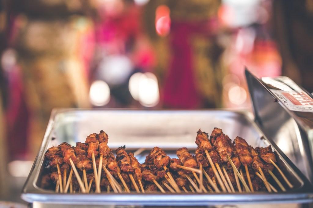 Bali sokak lezzetleri