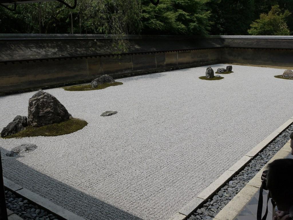 Lugares que ver en Kioto: el jardín zen de Ryoan-ji