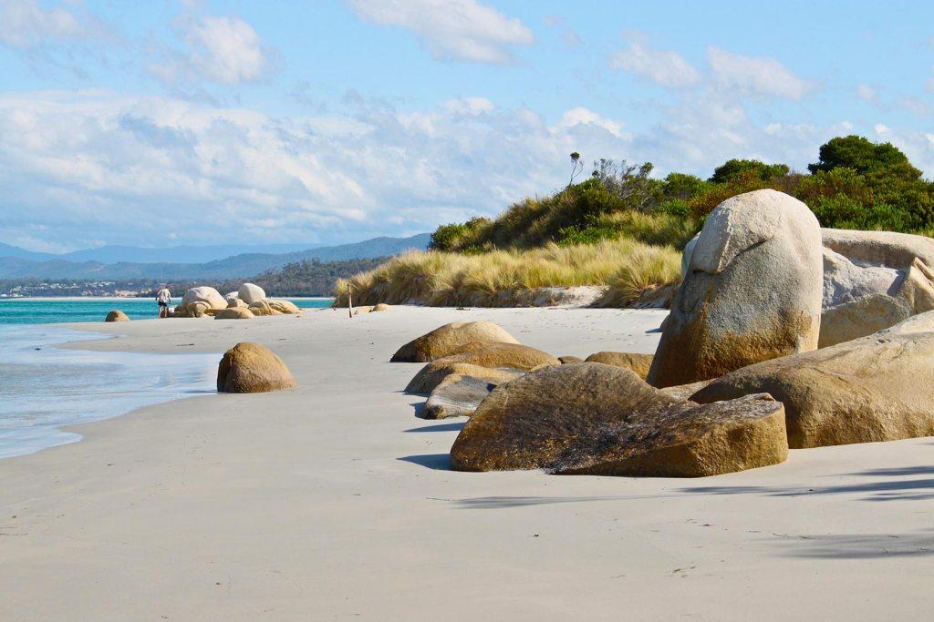 Beach in Tasmania