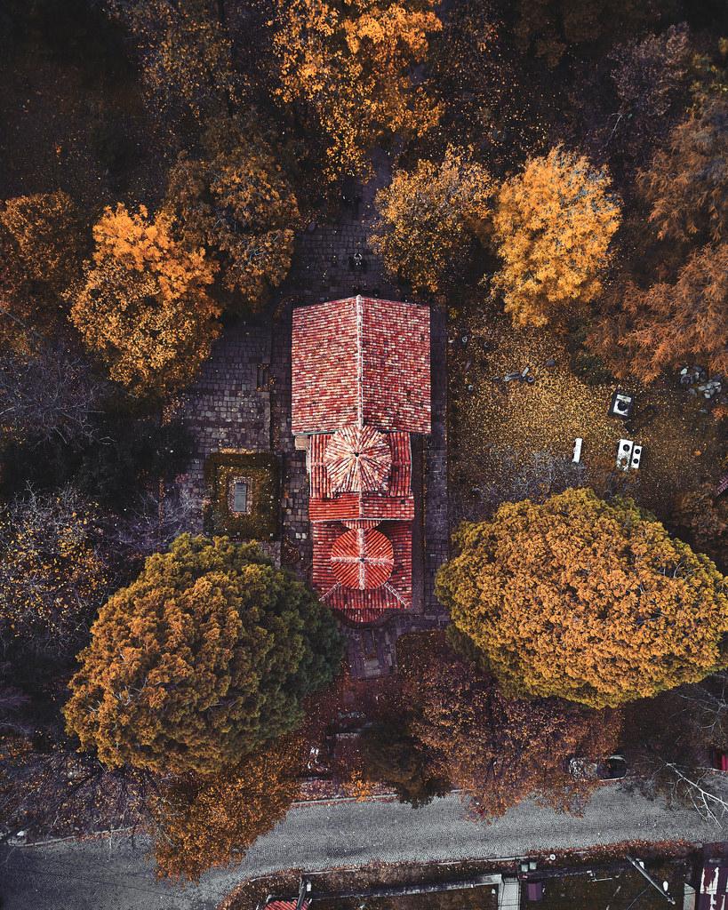 Κάτοψη της εκκλησίας Μπογιάνα στη Βουλγαρία