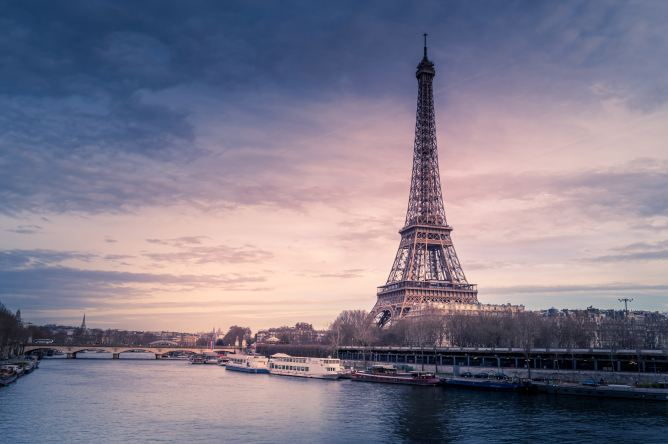 Visit the Eiffel Tower in Paris, France, by booking cheap flights to Europe