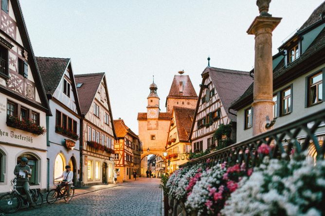 Stroll the streets of Germany after you book a cheap flight to Europe