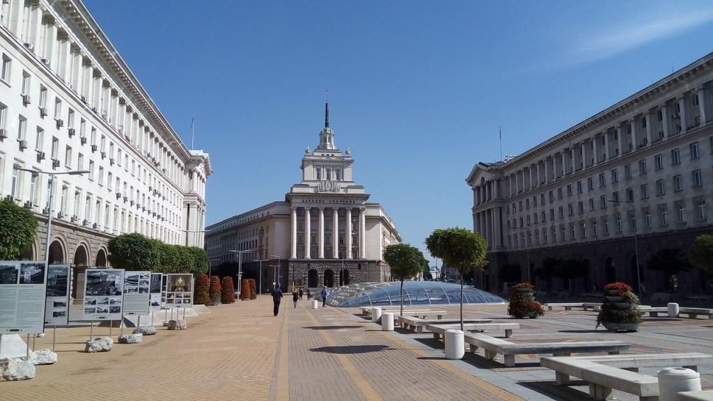 Φωτογραφία από το κέντρο της Σόφιας.