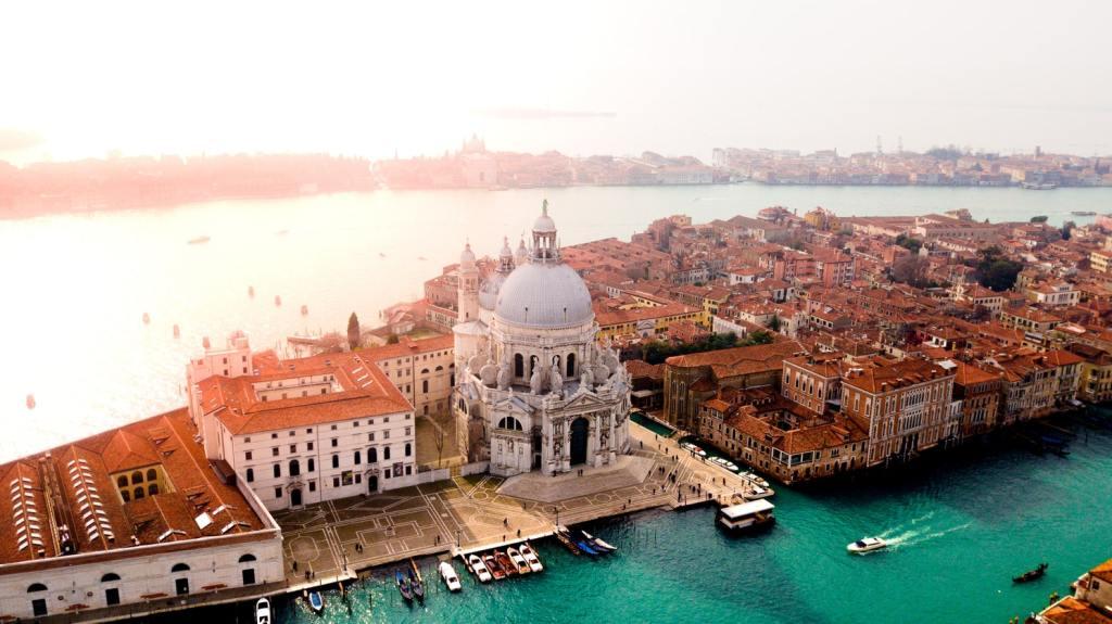 Vy över Venedig.