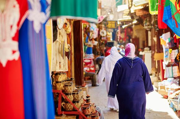 モロッコの街