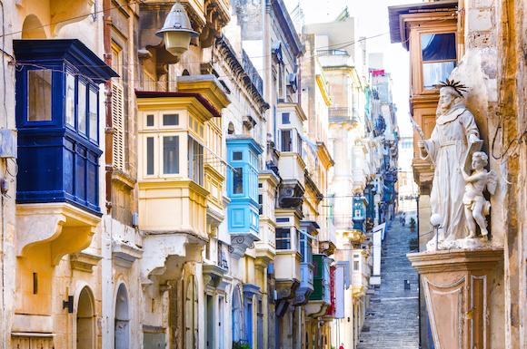 マルタ島 ヴァレッタ旧市街