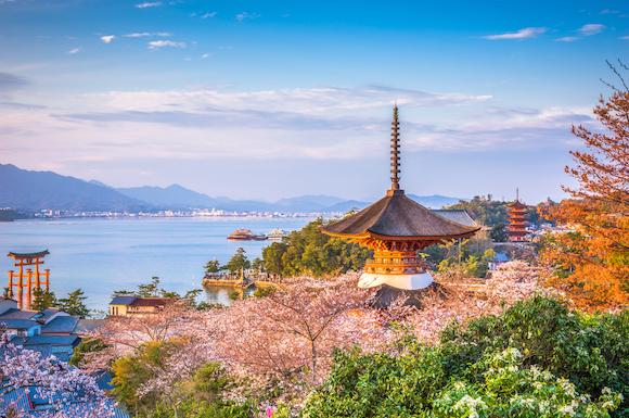 宮島の絶景(広島県)