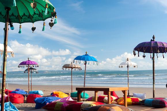 インドネシア バリ島 有名なクタビーチ