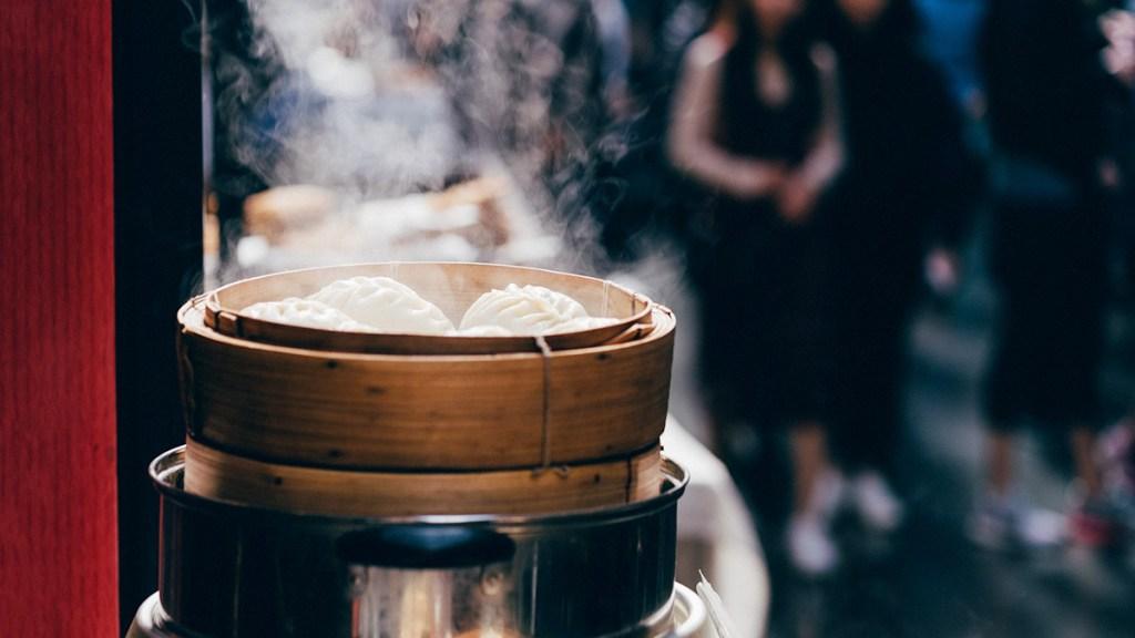 Dumplings, street food