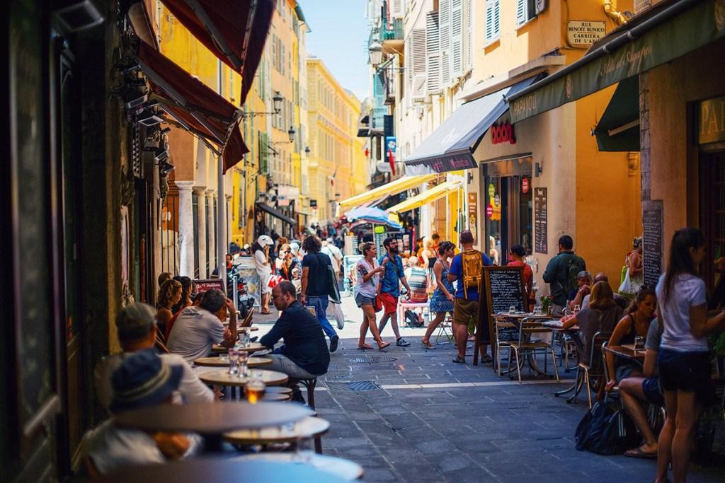 Nice street scene
