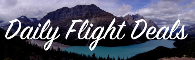 daily flight deals banner