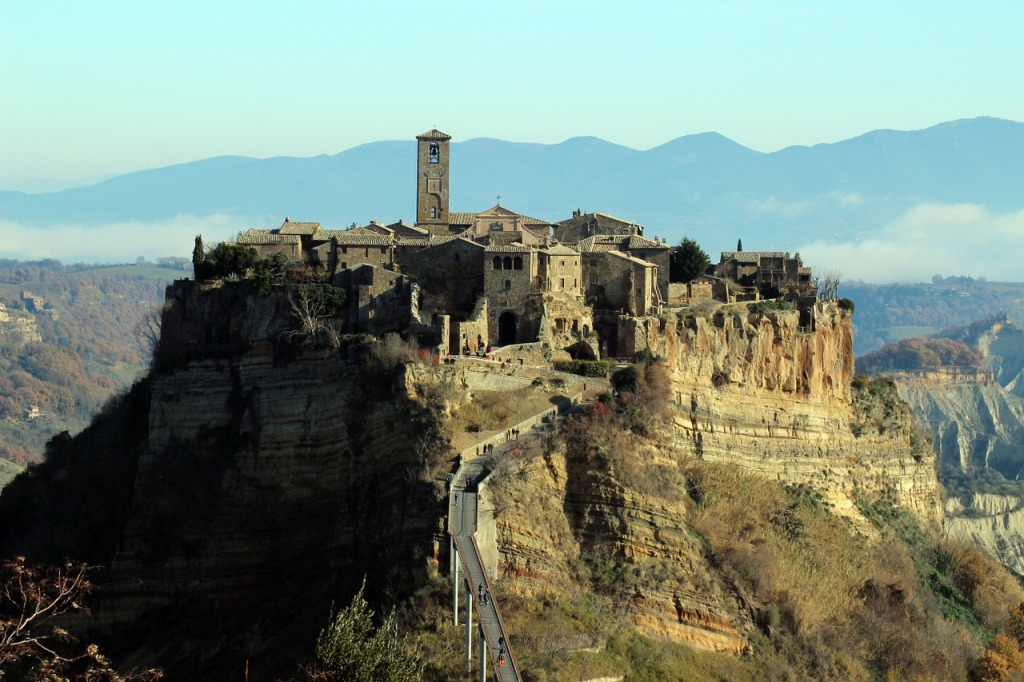 Le 15 Città da vedere nel Lazio: Civita di Bagnoregio