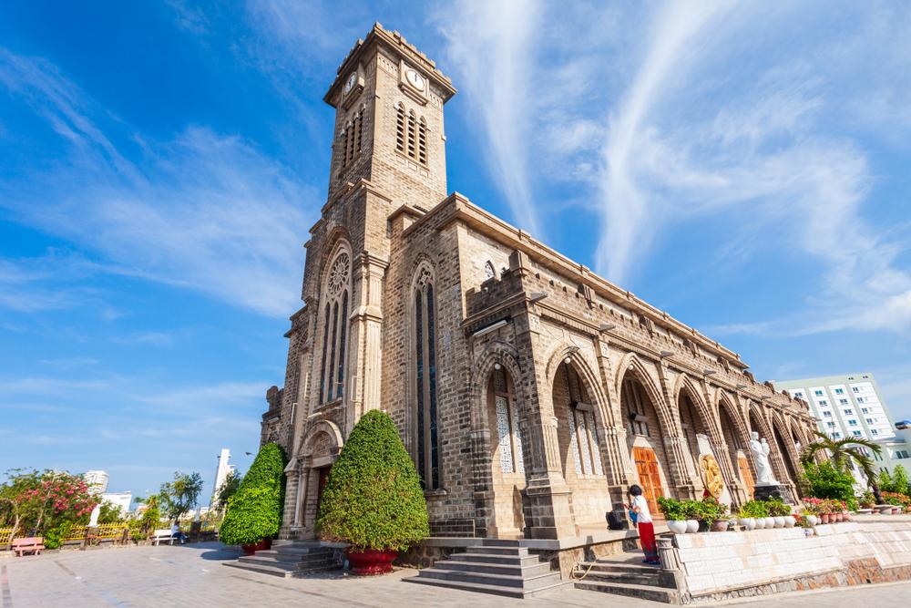 ベトナム ニャチャン大聖堂