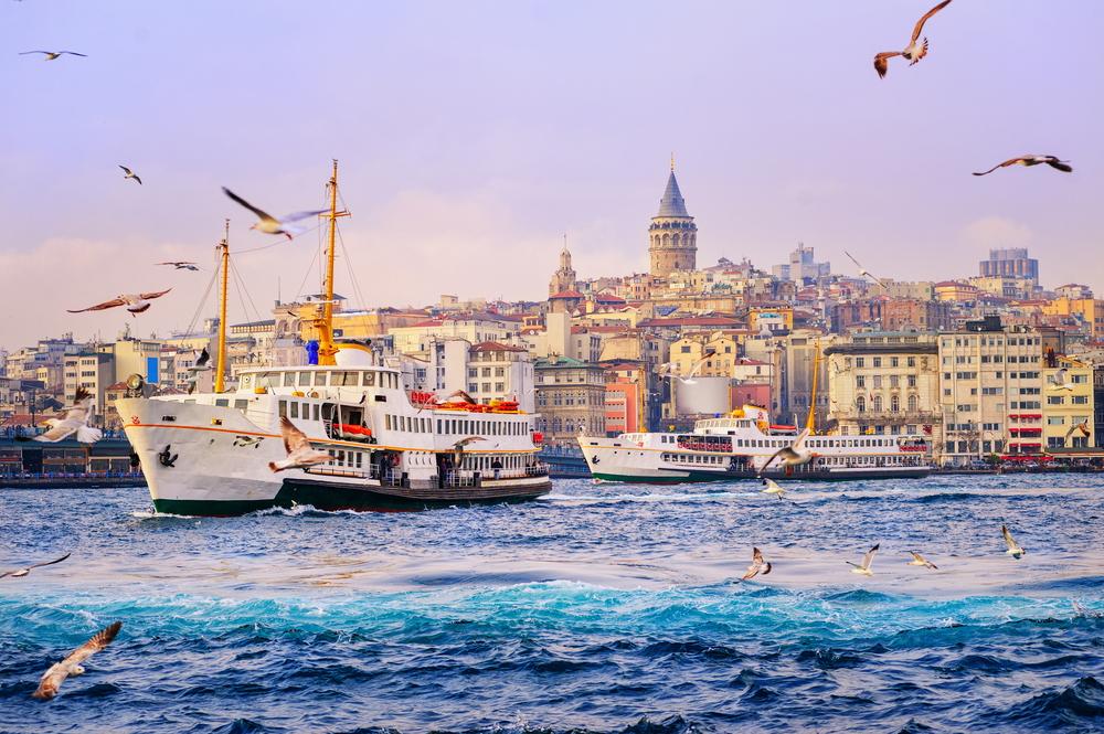 トルコ イスタンブール ゴールデンホーン