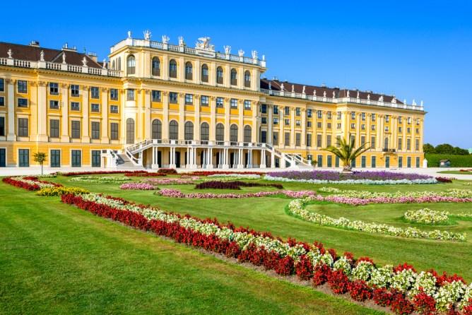 世界遺産の芸術の都ウィーン シェーンブルン宮殿