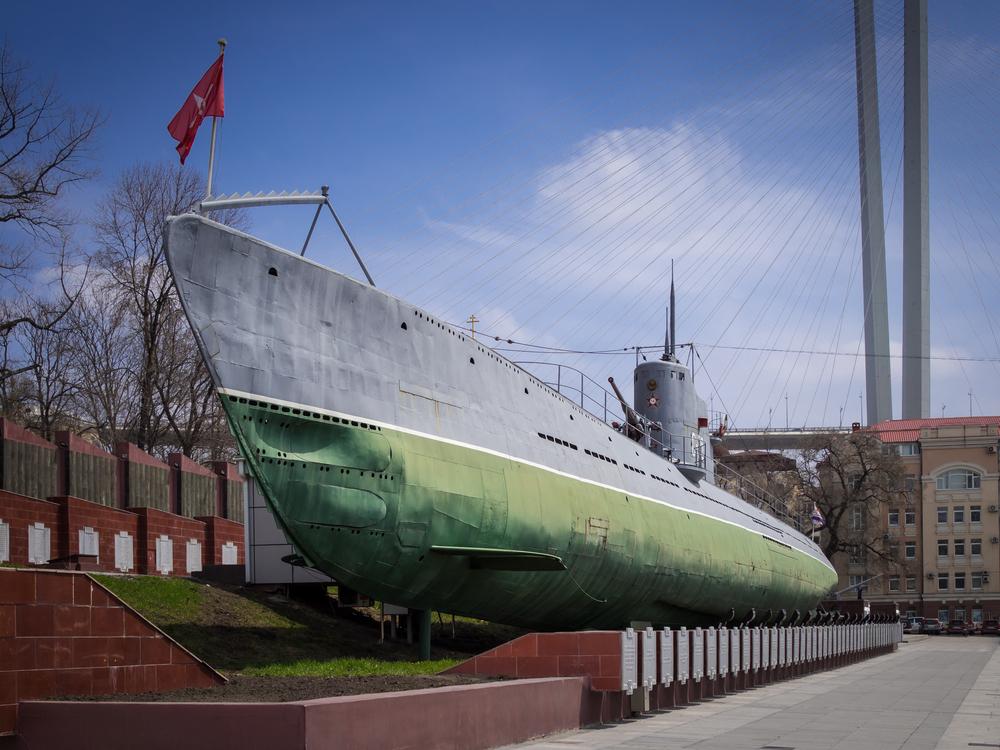 ロシア ウラジオストク 潜水艦