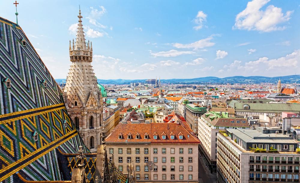 世界遺産の芸術の都ウィーン シュテファン大聖堂