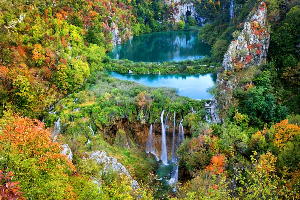 中・東欧へのアクセスが向上 クロアチアのプリトヴィツェ湖群国立公園
