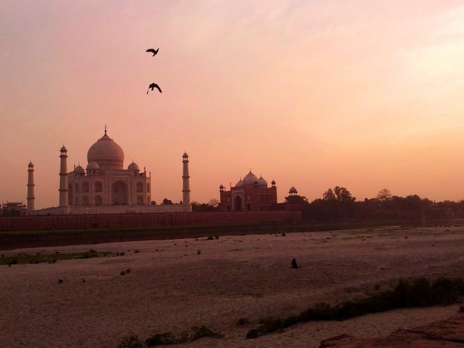 Taj Mahal nerede