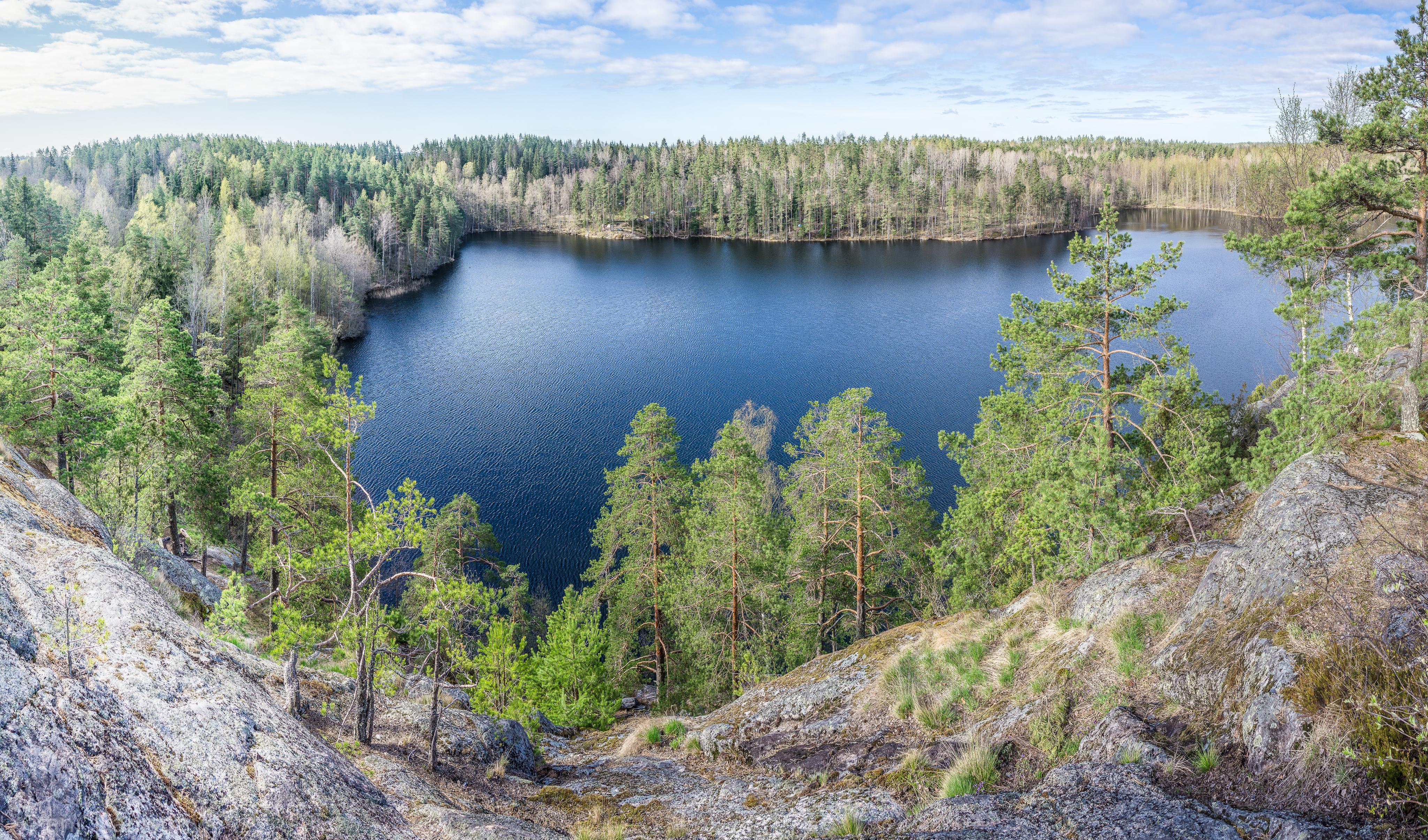 Активный отдых на Карельском перешейке: Ястребиное озеро