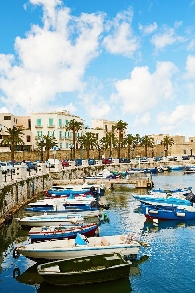 Bari, Costa adriatica