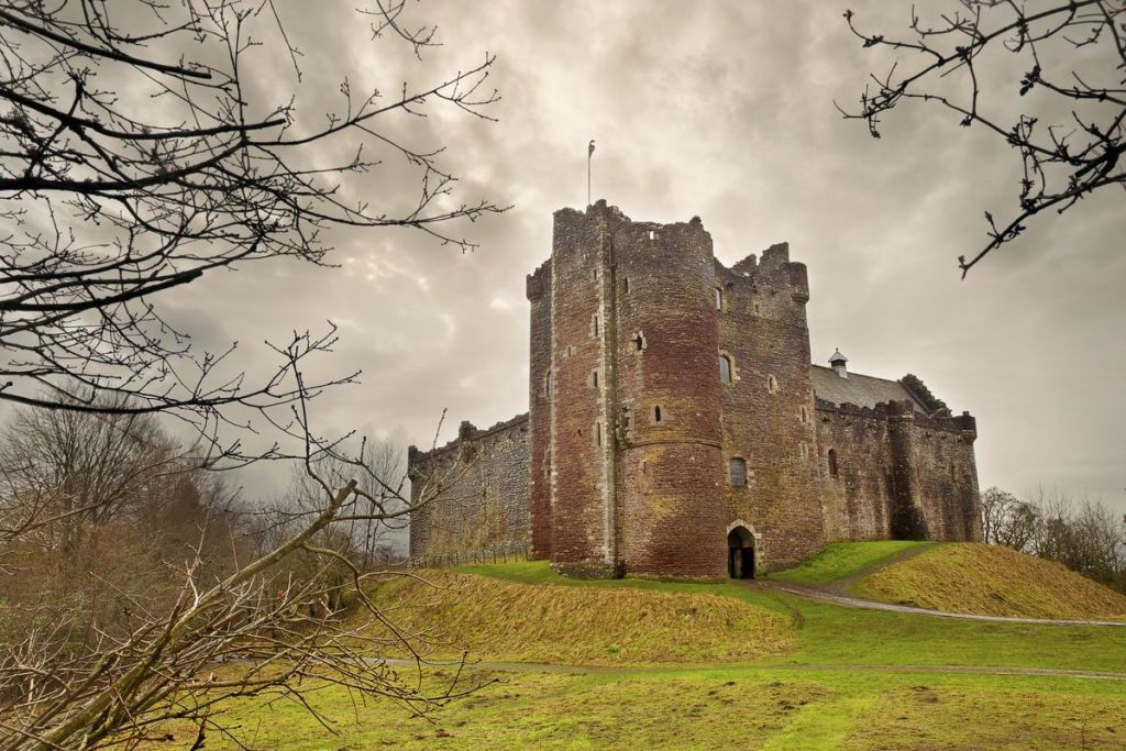 Το κάστρο Doune στη Σκωτία