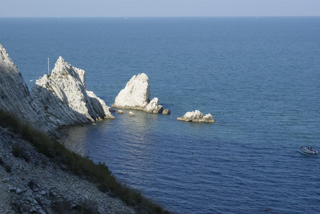 Conero, Costa adriatica