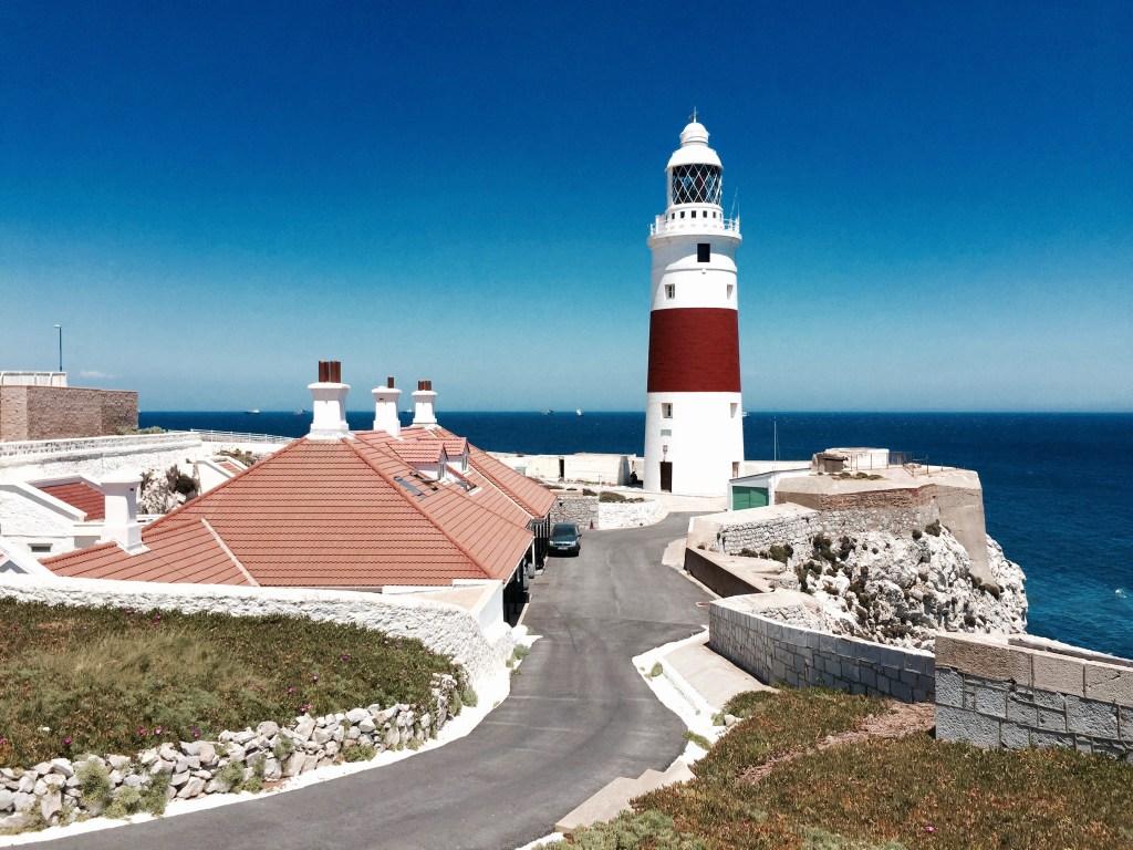 Faro de Punta Europa en Gibraltar