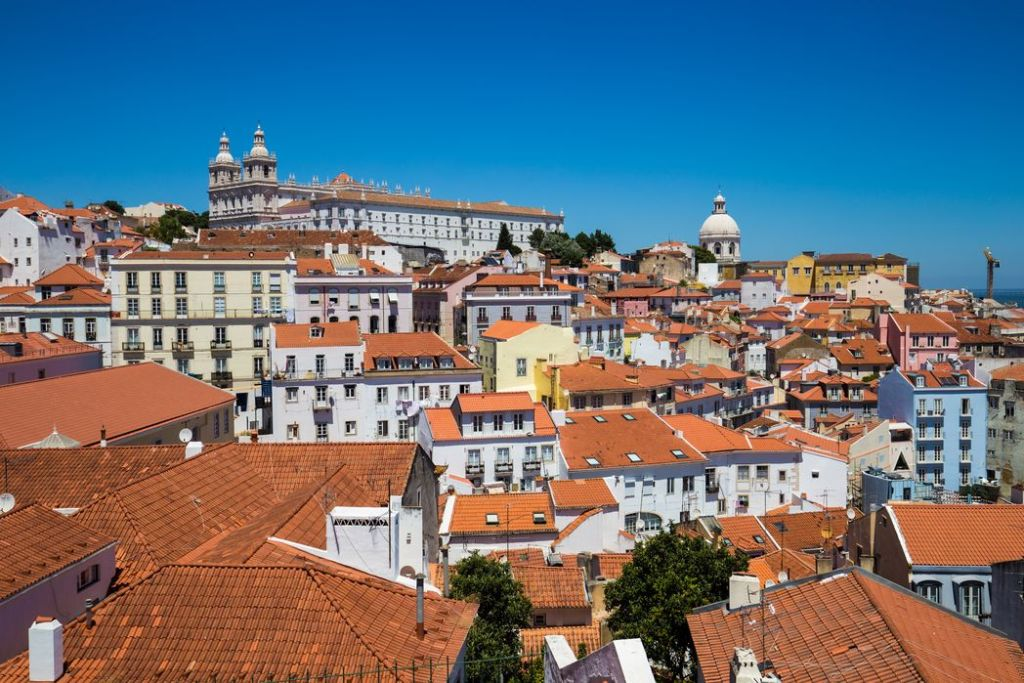 Image of the rooftops in Lisbon, which is a Top Summer European Vacation destination. Budget in Lisbon | Skyscanner Canada