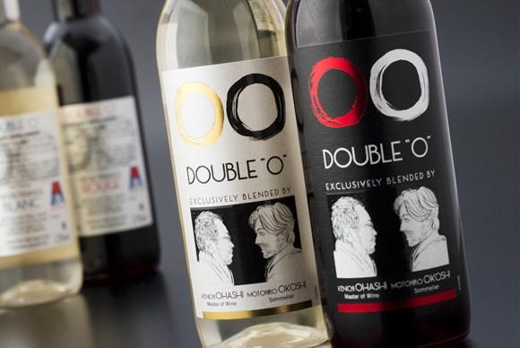JAL(成田-ハワイ線)機内食「Double O」ワイン