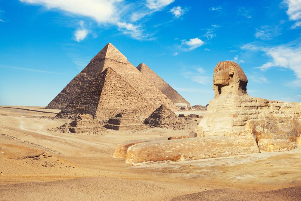 今年行くべき旅先トップ10 エジプト カイロ Cairo ピラミッド スフィンクス 砂漠
