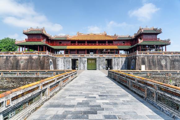 ベトナム フエ グエン朝の王宮