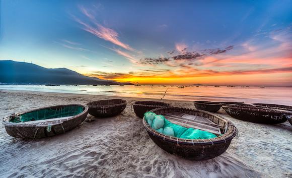ベトナム ダナンのミーケービーチ