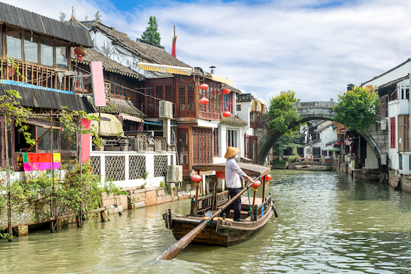 中国 上海 朱家角