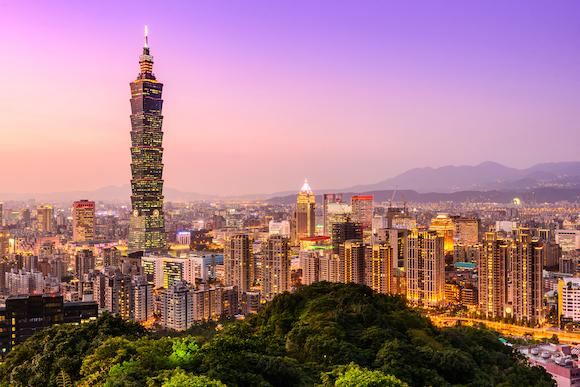 台湾 台北の街
