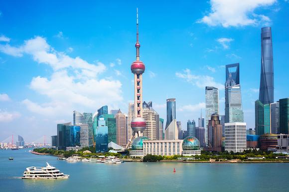 中国 上海の摩天楼