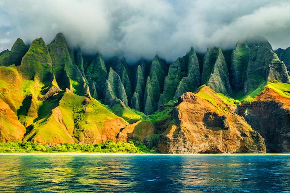 アメリカ ハワイ カウアイ島 ナパリコースト