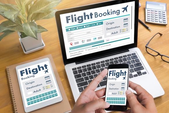 航空券の予約