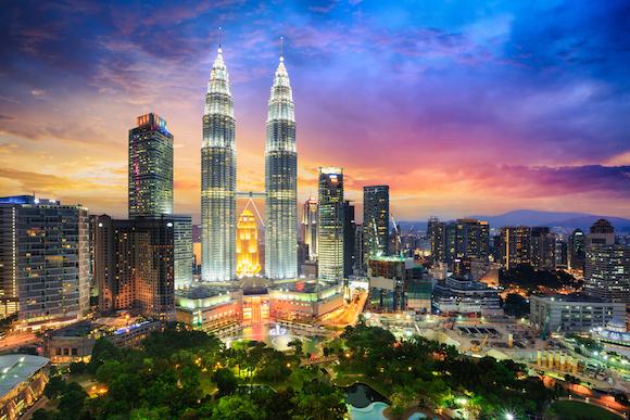 マレーシア クアラルンプール ペトロナス・ツインタワー