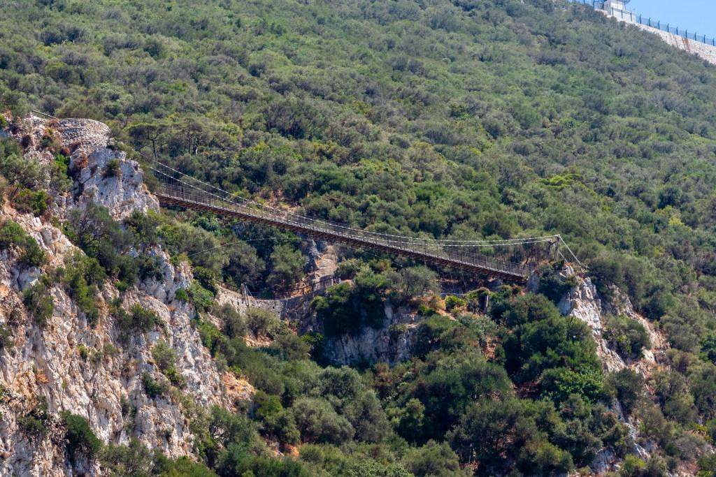Puente Colgante de Windsor en Gibraltar