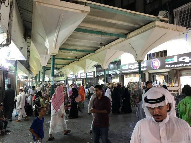 サウジアラビア・ジッダの宗教色が強く残る街並み
