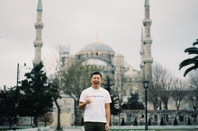 トルコ イスタンブール ブルーモスク