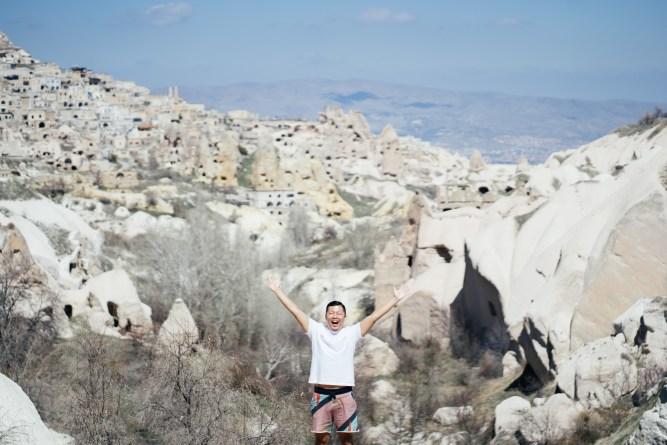 トルコ カッパドキア 奇怪な岩
