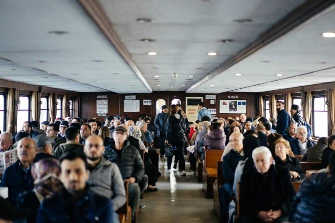 トルコ イスタンブール 船
