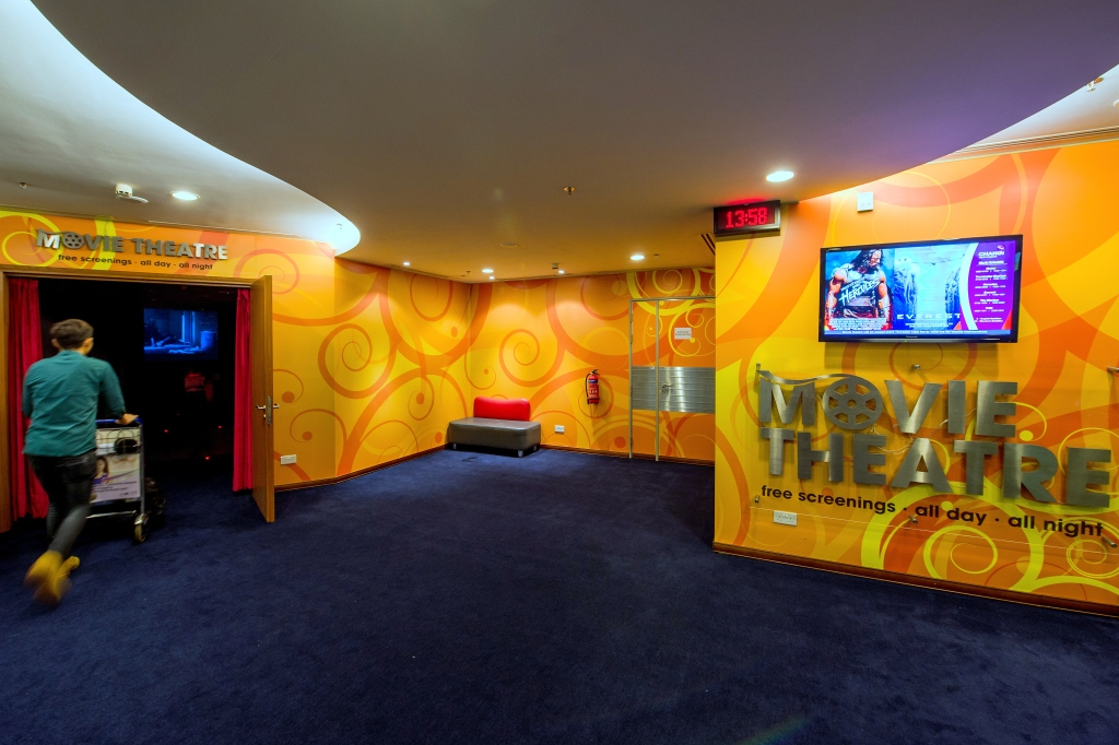 Кинотеатр Movie Theatres в аэропорту Чанги